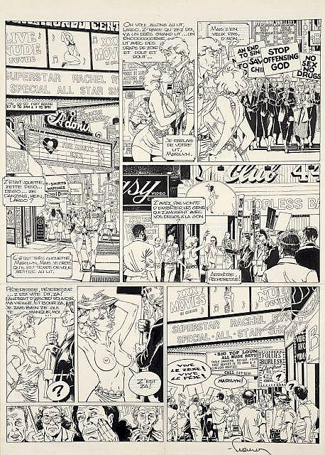 Philippe FRANCQ Né en 1961 Largo Winch - Tome 3