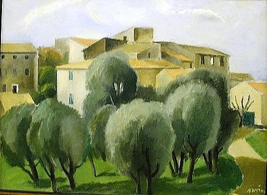 Maurice SAVIN (1894-1973) PAYSAGE DE PROVENCE Huile sur toile signée en bas à ...