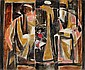 Roger CHASTEL (1897-1981) LA VEILLEE IV, circa 1950-1952 Huile sur toile cache..., Roger Chastel, Click for value