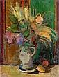 Ossip LUBITCH (1896-1990) BOUQUET DE FLEURS, CIRCA 1935 Huile sur toile signée..., Ossip Lubitch, Click for value