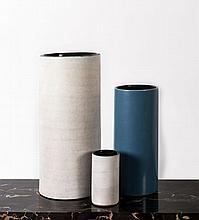 Georges JOUVE (1910 - 1964) Ensemble de trois vases