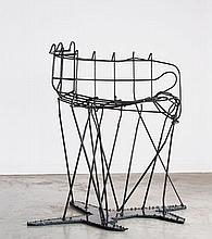 Franz WEST (1947-2012) Rare fauteuil