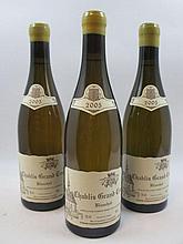 6 bouteilles CHABLIS 2005 Grand Cru Blanchot