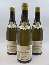 6 bouteilles CHABLIS 2006 1er cru Montée de Tonnerre