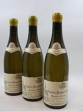 6 bouteilles CHABLIS 2007 1er cru Montée de Tonnerre