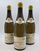 6 bouteilles CHABLIS 2007 1er cru Monts Mains