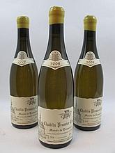 6 bouteilles CHABLIS 2008 1er cru Montée de Tonnerre