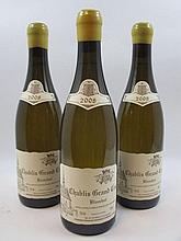 6 bouteilles CHABLIS 2008 Grand Cru Blanchot