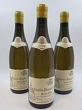 6 bouteilles CHABLIS 2008 1er cru Monts Mains