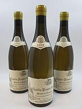6 bouteilles CHABLIS 2009 1er cru Montée de Tonnerre