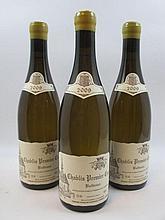 6 bouteilles CHABLIS 2009 1er cru Butteaux