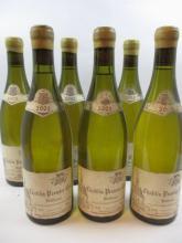 6 bouteilles CHABLIS 2002 1er cru Butteaux