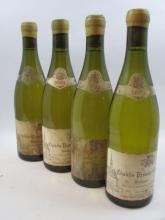 4 bouteilles CHABLIS 2003 1er cru Butteaux