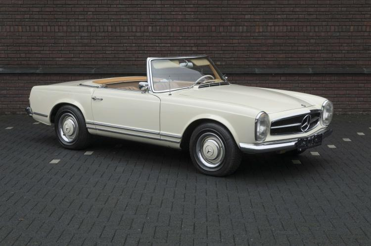 1965 mercedes benz 230 sl cabriolet pagode no reserve. Black Bedroom Furniture Sets. Home Design Ideas