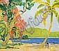 Fernand LANTOINE (1876 - 1955) PAYSAGE Huile sur panneau d'Isorel, Fernand Lantoine, Click for value