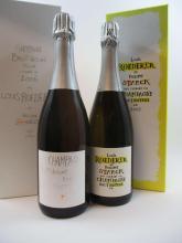 2 bouteilles 1 bt : CHAMPAGNE LOUIS ROEDERER 2006 Philippe Starck (étui d'origine)