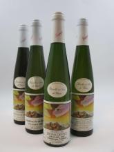 15 demi-bouteilles 6 demi bts : ALSACE RIESLING 1997 GC Zinnkoepfle (VT) récolté en Vin de Glace. Domaine Seppi Landmann