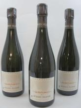 3 bouteilles CHAMPAGNE JACQUES SELOSSE Substance