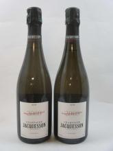 6 bouteilles CHAMPAGNE JACQUESSON 2000 Avize