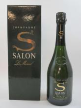 2 bouteilles CHAMPAGNE S DE SALON 1997 Le Mesnil