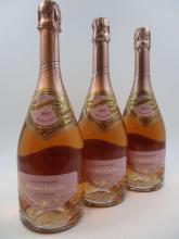 3 bouteilles CHAMPAGNE VRANKEN La Demoiselle Brut Rosé