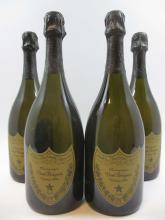 4 bouteilles CHAMPAGNE DOM PERIGNON 1996  (Cave 11)