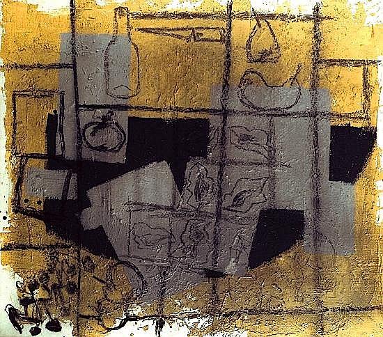 Miguel-Angel CAMPANO (né en 1949) SANS TITRE, 1988 Acrylique et charbon sur toile