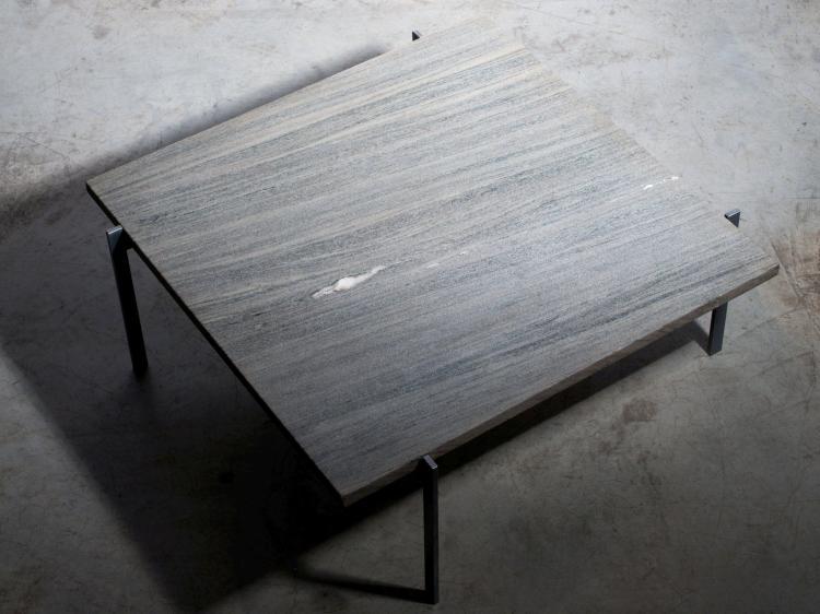 Poul kj rholm 1929 1980 table basse mod pk61 1956 pi te for Table basse plateau marbre