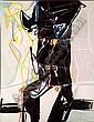 Eugène de KERMADEC (1899 -1976) TOTEM, 1957 huile sur toile, Eugene de Kermadec, Click for value