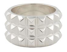 HERMÈS  Bague ESPIONNE Argent 925/1000 Poids : 12,3 g Taille : 51  ESPIONNE ring Silver 925/1000 Weight : 12,3 gR...