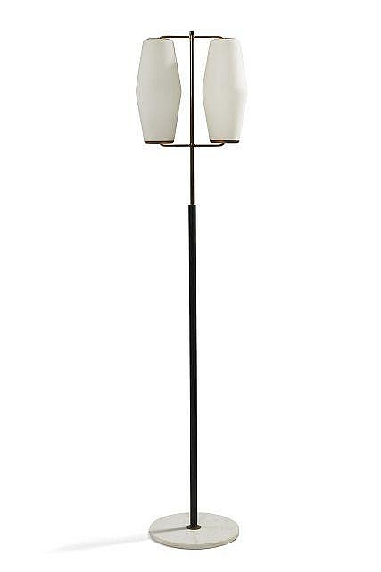 stilnovo editeur lampadaire deux lumi res circa 1968 bas. Black Bedroom Furniture Sets. Home Design Ideas