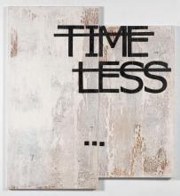 RERO Français - Né en 1983 Sans titre (Time Less...) - 2012 Technique mixte sur toiles (diptyque)