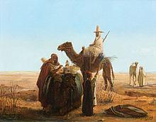 Jan-Baptist HUYSMANS (1826-1906) CARAVANIERS
