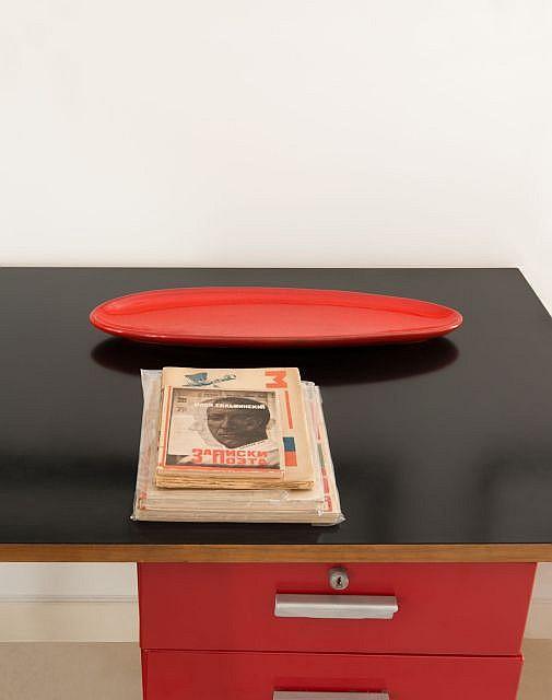 Pol CHAMBOST (1906-1983) Coupe mod. 2107 - 1955 Céramique émaillée