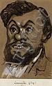 Gaspard Félix Tournachon, dit Nadar Paris, 1820 - 1910 Eugène Antoine Samuel Lavieille (1820-1889) Fusain, estompe et rehauts de gou..., Eugène Antoine Samuel Lavieille, Click for value