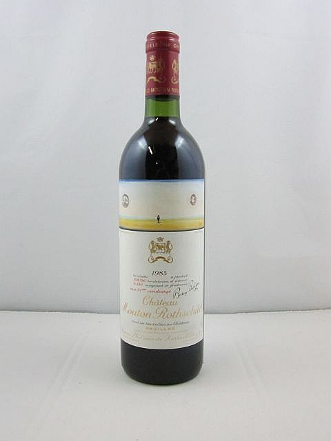 1 bouteille CHÂTEAU MOUTON ROTHSCHILD 1983 1er GC Pauillac