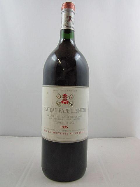 1 magnum CHÂTEAU PAPE CLEMENT 1996 CC Pessac Léognan