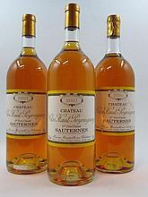 3 magnums CHÂTEAU CLOS HAUT PEYRAGUEY 2001 1er Cru Sauternes