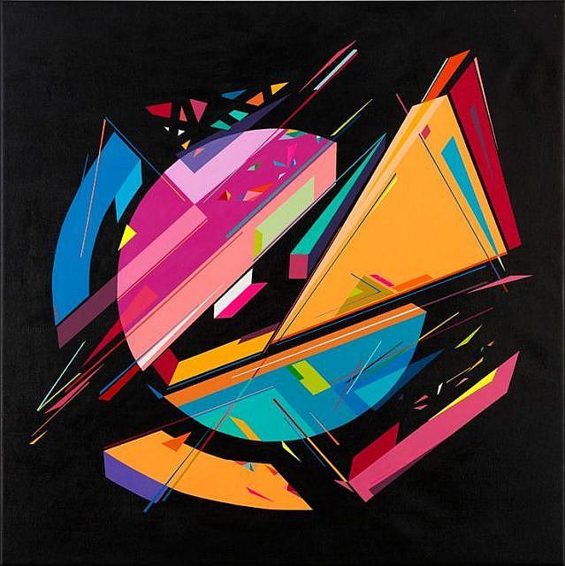 KENOR Né en 1976 SANS TITRE - 2015 Acrylique sur toile