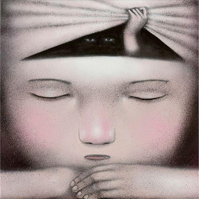 Julien SETH MALLAND Né en 1972 SANS TITRE - 2015 Peinture aérosol sur toile