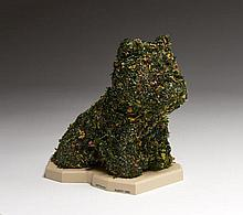Jeff KOONS (d'après) Né en 1955 Puppy (Hecho a mano) - 1992 Résine et fleurs séchées