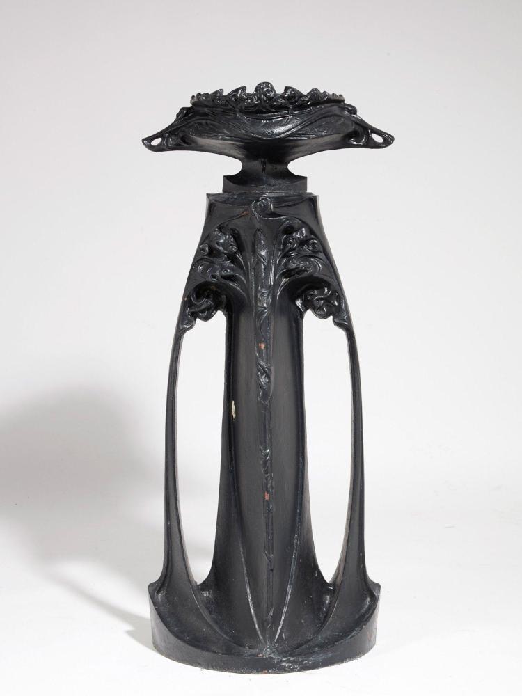 hector guimard saint dizier fonderie 1867 1942 vase et. Black Bedroom Furniture Sets. Home Design Ideas