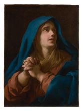 Jean-François de Troy Paris, 1679 - Rome, 1752 La Vierge en prière Huile sur toile