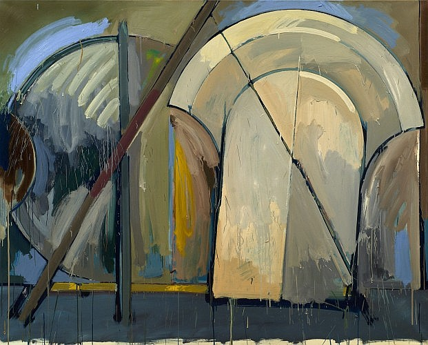 Gérard TITUS-CARMEL (né en 1942) SUITE CHANCAY/PEINTURE #4, 1985 Huile sur toile