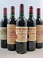10 bouteilles 2 bts : CHÂTEAU FIGEAC 1990 1er GCC (B) Saint Emilion