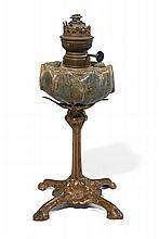 TRAVAIL FRANÇAIS 1900  Lampe à pétrole