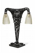 Paul KISS (attribué à)  Lampe de table