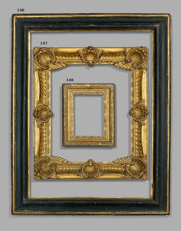 u00a4 Italie, fin du XVIIIe si u00e8cle Cadre en bois sculpté et doré # Cadre Bois Sculpté