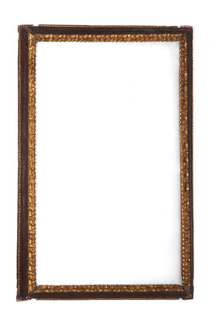 italie bologne xviie si cle beau et grand cadre en bois. Black Bedroom Furniture Sets. Home Design Ideas