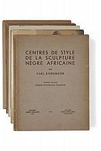 CARL KJERSMEIER   Centre de style de la sculpture nègre africaine.